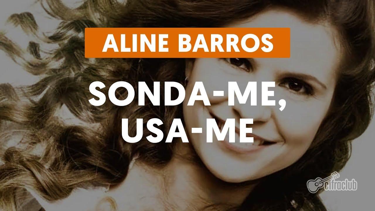 Sonda me Usa me - LETRA - Aline Barros - YouTube