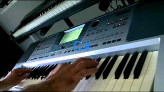 Vangelis - Chung Kuo with a Korg PA50