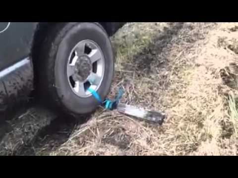 How to get a car unstuck from the mud..
