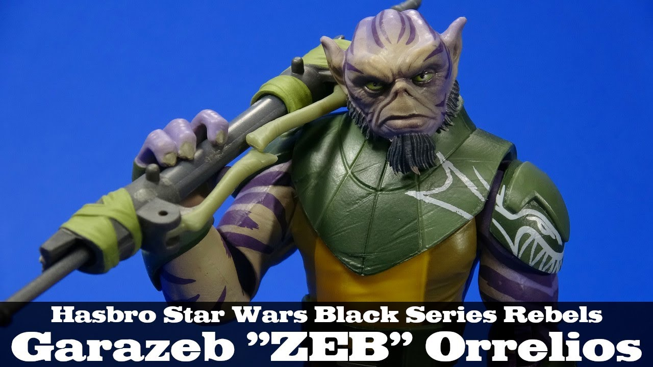 Black Series Star Wars The Zeb Orrelios 6-Inch Action Figure ~ Star Wars Rebels