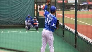 2017.6.11 メットライフドーム 横浜DeNAベイスターズ今永昇太投手試合前...