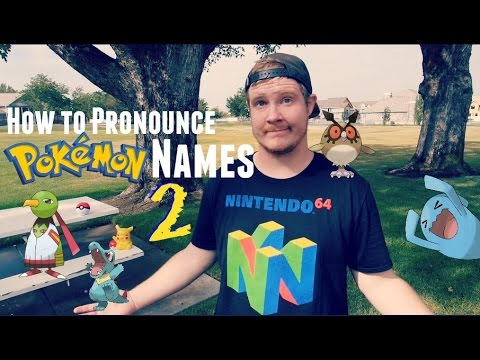 How to Pronounce Pokémon Names: Gen 2