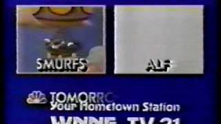 80's Smurfs and Alf Cartoon TV Commercial