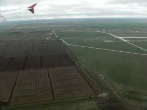 Descending and landing to Simferopol airport (SIP)