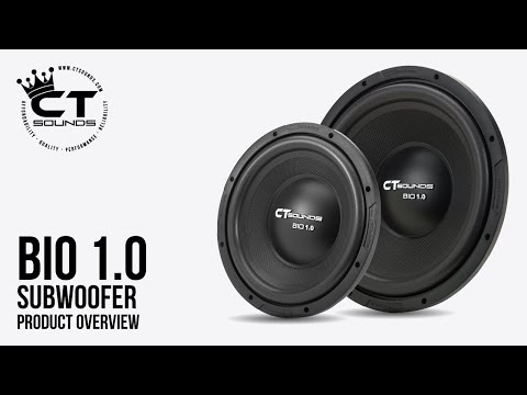 CT Sounds Bio 1.0 Subwoofer Product Overview