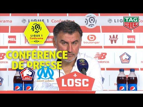 Conférence de presse LOSC - Olympique de Marseille ( 3-0 )  / 2018-19