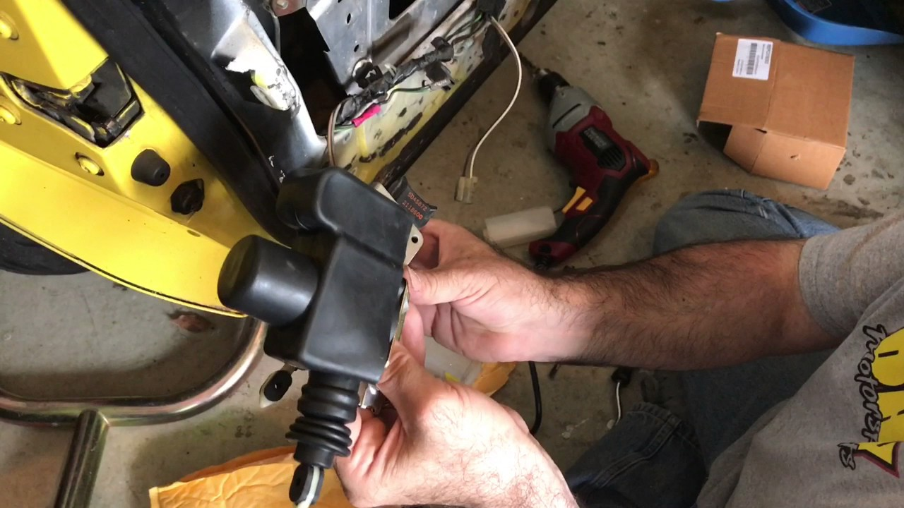 c4 corvette suspension diagram 3d plant cell door latch wiring online 84 89 lock actuator install repair 86 pace car rear