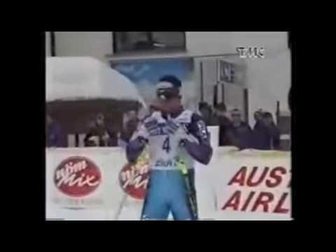 Alberto tomba - vittoria a lech nel 1994