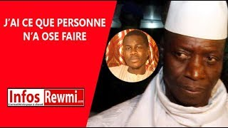 &quotMystiquement la diomal Yayah Jammeh, bamou diokhma diplome&quot revele Serigne Ablaye ...