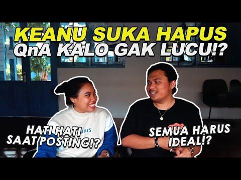 Ternyata @Keanu Agl Suka Hapus Q&A Kalo Ga Lucu   Teman Duduk Influencer