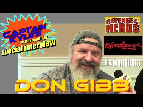 Don Gibb (Revenge of the Nerds) - Captain Kyle Special Interview