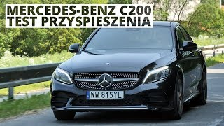 Mercedes-Benz C200 1.5 184 KM (AT) - acceleration 0-100 km/h