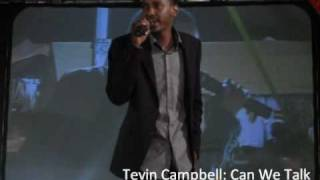 Tevin Campbell - Can We Talk (live)