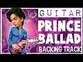 Ballad Backing Track Prince Style in G Major
