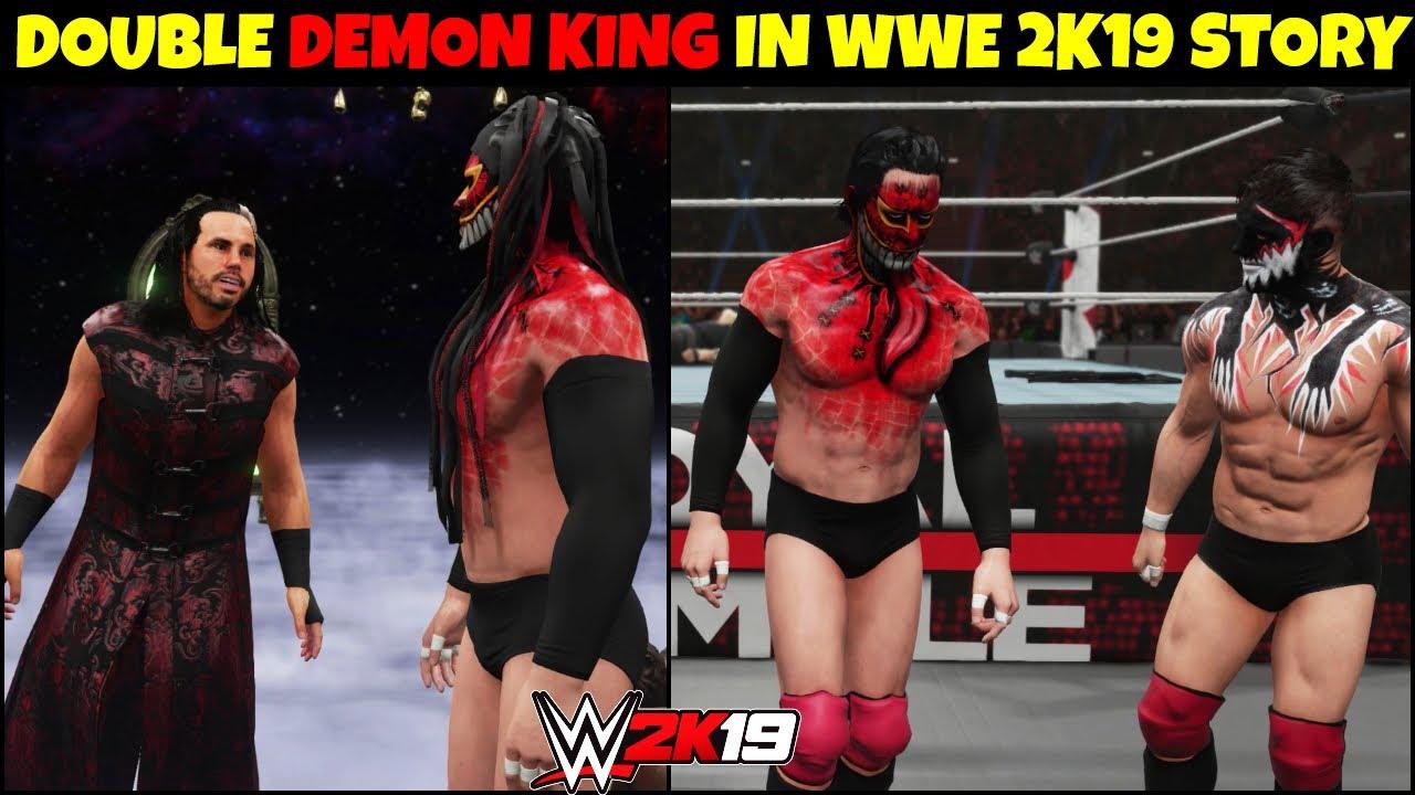 WWE 2K19 My CAREER MODE EPISODE 9    DEMON KING BROTHER IN WWE 2K19    EPISODE 9   