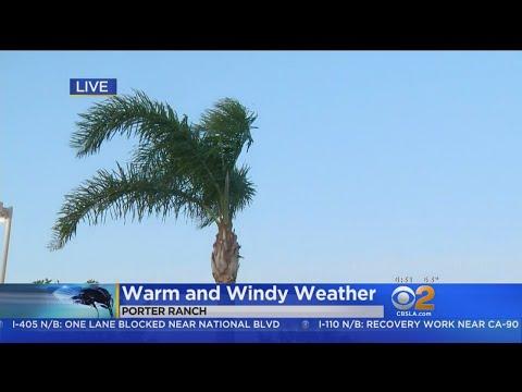 Heat, Winds Hit Southern California