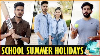 SCHOOL STUDENTS IN SUMMER HOLIDAYS || Rachit Rojha
