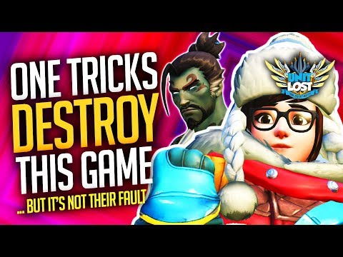 Overwatch - One tricks are destroying this game (but it's not their fault...)