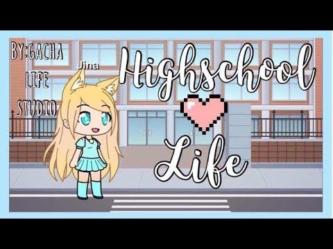 Highschool Life:Episode 1| Gacha Life Studio