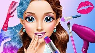 Fun Kids Care Games - Ice Princess Makeup Frozen Gloria Beauty Salon Makeover Kids & Girls Games