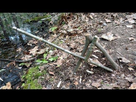 Spring Pole Fish Trap