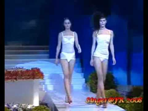 Chantelle Lingerie Sexy Fashion Show in Taiwan Republic SS2008 Part 1
