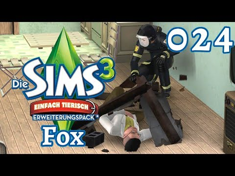 Let´s Play Die Sims 3 / Familie Fox ◊ Part 024 - Das Große Erdbeben (DE HD)