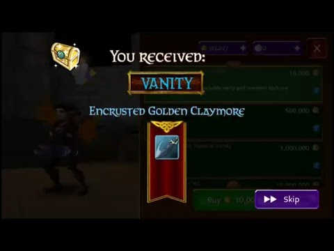 Looted 250k And Encrusted! Arcane Legends Sir Spendalot Part 4