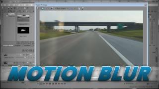 Sony Vegas - Motion Blur