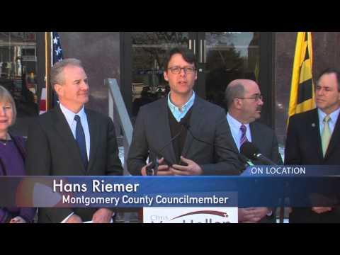 County Leaders Endorse Chris Van Hollen for U.S. Senate