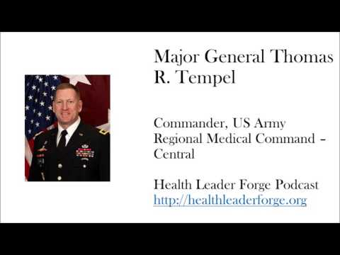 MG Thomas R Tempel, Jr, CG RMC C