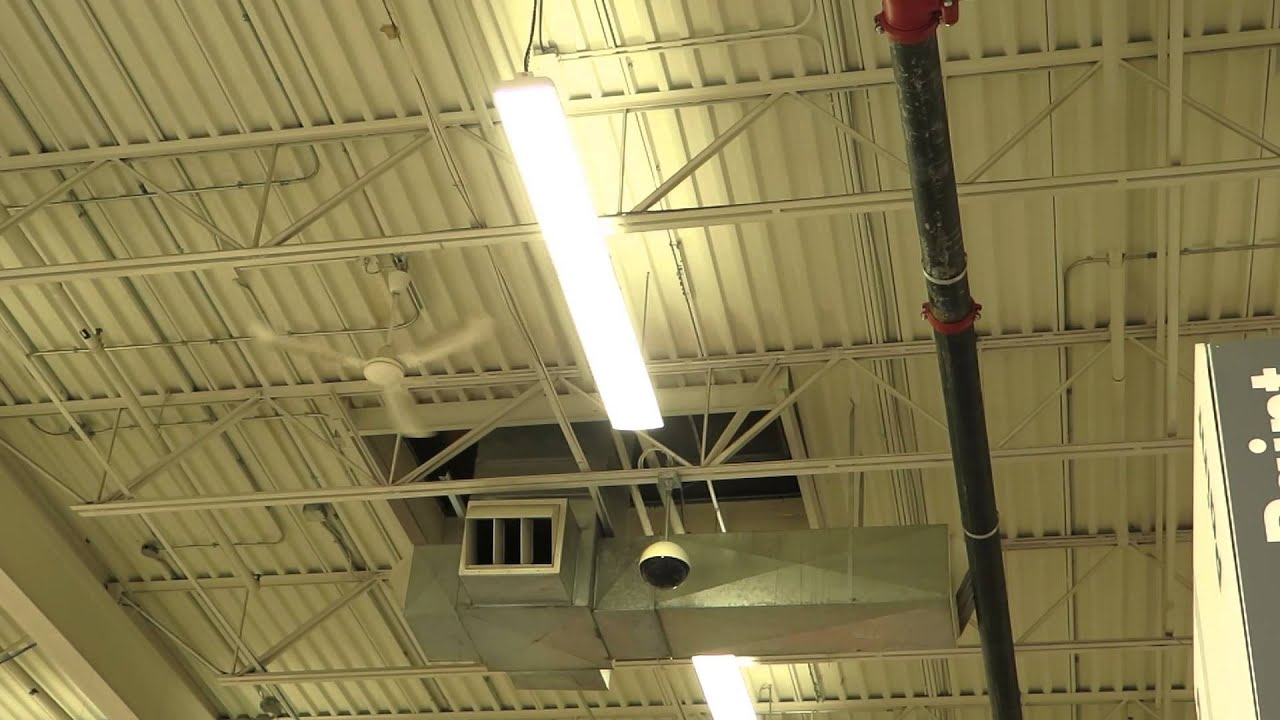 Big ceiling fan at Home Depot - YouTube