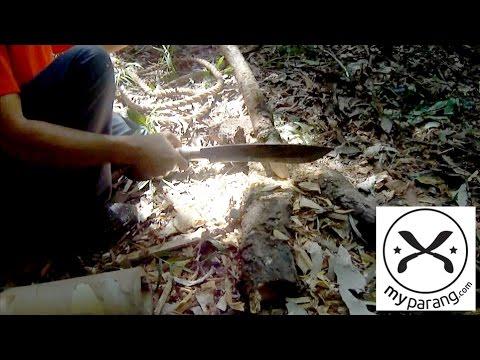 MY Parang - Golok 125 field test