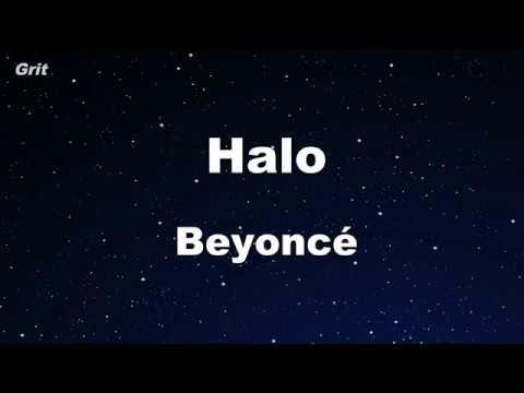 Halo - Beyoncé Karaoke 【No Guide Melody】 Instrumental
