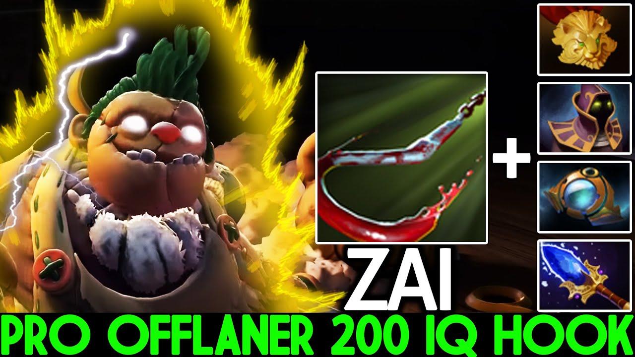 ZAI [Pudge] Master Offlaner 200 IQ Hook Toying Midone Dota 2 thumbnail