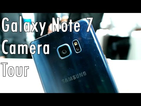 Samsung Galaxy Note 7 camera tour: Cleaning up its app?