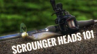 Ledge Fishing Tips Scrounger Jig Head Fishing