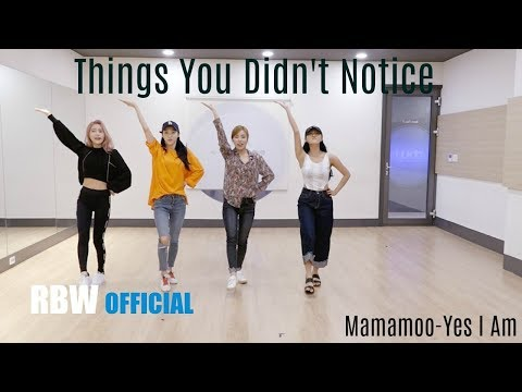 THINGS YOU DIDN'T NOTICE IN MAMAMOO'S YES I AM DP