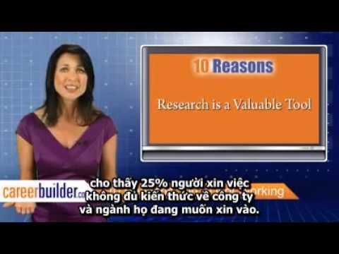10 Lý do bạn chưa tìm được việc làm