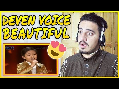 DEVEN - THE GREATEST LOVE OF ALL (George Benson) - Top 4 - Indonesian Idol Junior 2018 REACTION