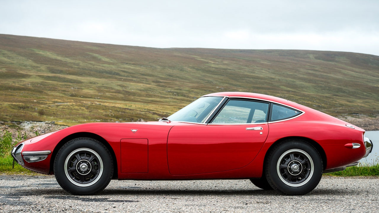 Toyota 2000GT : a history - YouTube