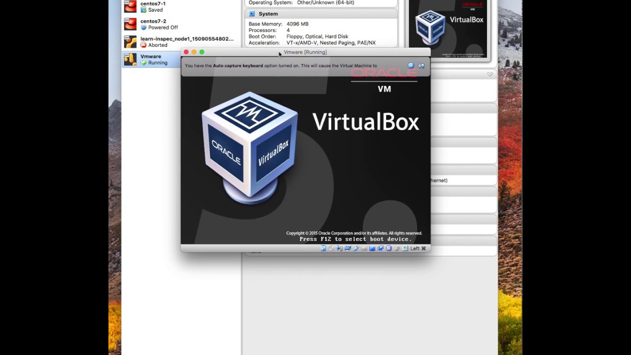 How to Install Vmware ESXi 6 5 onto Virtualbox on a Macbook Pro for testing