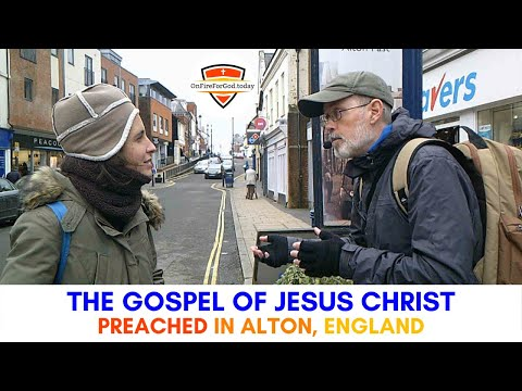 UK Street Preaching: High Street, Alton, Hampshire