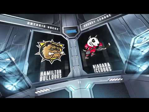 HIGHLIGHTS Niagara IceDogs (5) Vs Hamilton Bulldogs (3) - October 25th, 2019