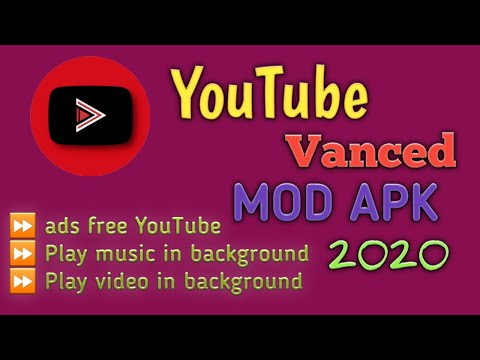 YouTube Vanced latest version apk 2020 no root