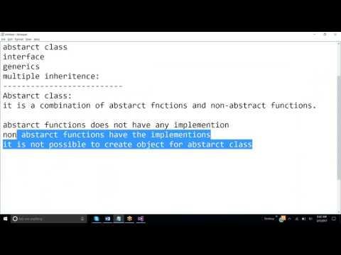 constructor,abstarc classes,interface,generics,multiple inheritence