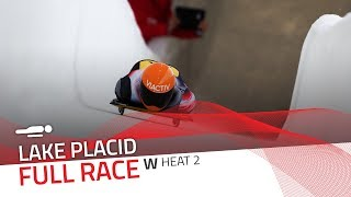 Lake Placid | BMW IBSF World Cup 2018/2019 - Women's Skeleton Heat 2 | IBSF Official