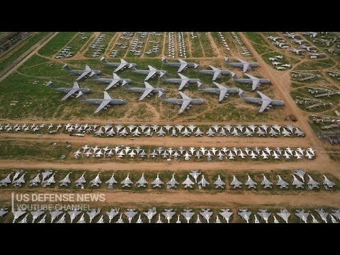 The Boneyard! Magical Video for Aviation Lovers - Davis-Monthan Air Force Base, Arizona