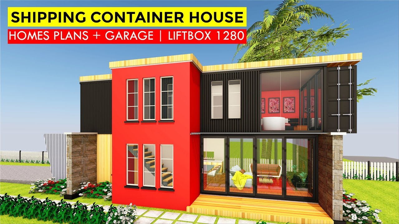 Modular Shipping Container Prefab 3 Bedroom House Design