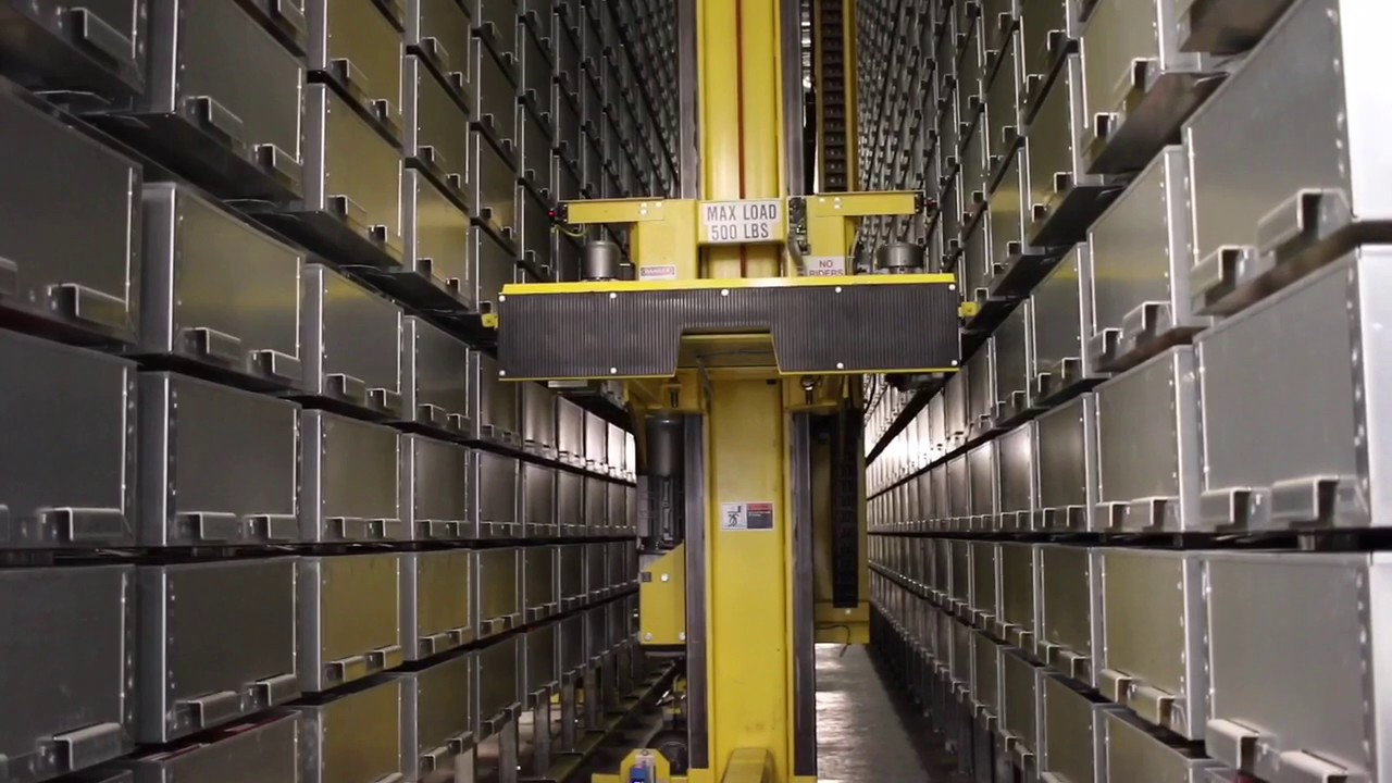 U Of Chicago Library Automated Storage And Retrieval